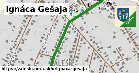 ilustrácia k Ignáca Gešaja, Zálesie - 645m
