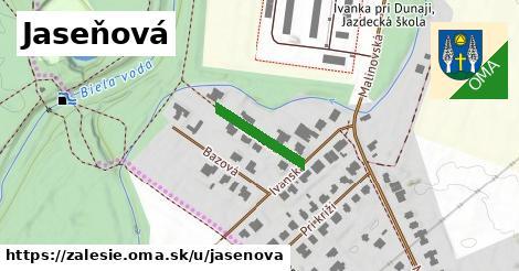 ilustrácia k Jaseňová, Zálesie - 153m