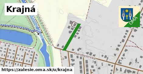 ilustrácia k Krajná, Zálesie - 192m