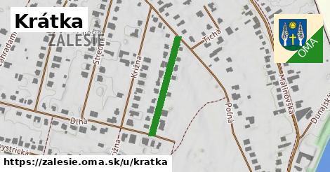 ilustrácia k Krátka, Zálesie - 229m
