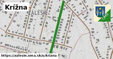 ilustrácia k Krížna, Zálesie - 398m