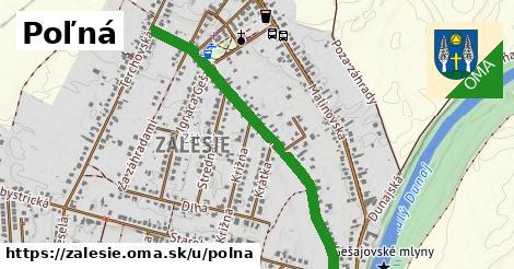 ilustrácia k Poľná, Zálesie - 0,94km