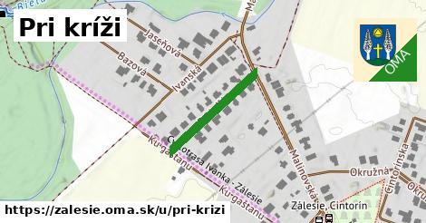 ilustrácia k Pri kríži, Zálesie - 208m