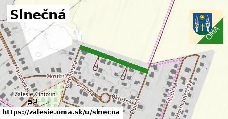 ilustrácia k Slnečná, Zálesie - 234m