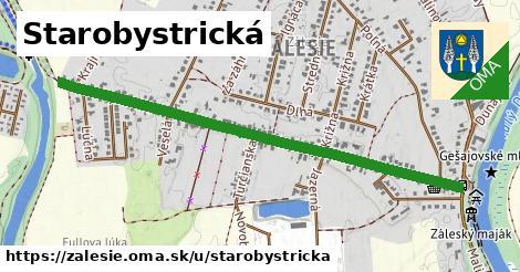 ilustrácia k Starobystrická, Zálesie - 1,21km