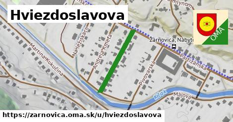 ilustrácia k Hviezdoslavova, Žarnovica - 229m