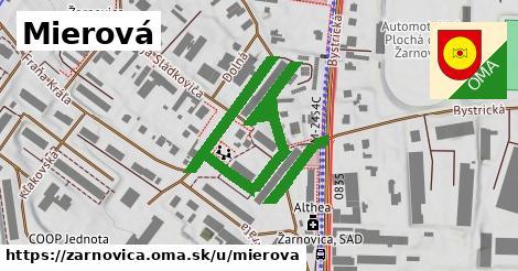 ilustrácia k Mierová, Žarnovica - 437m