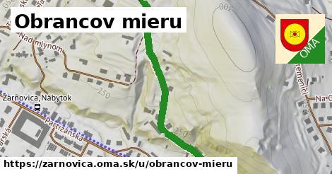 ilustrácia k Obrancov mieru, Žarnovica - 524m