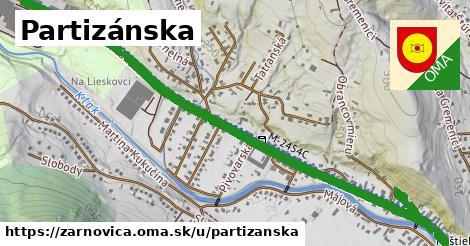 ilustrácia k Partizánska, Žarnovica - 1,47km
