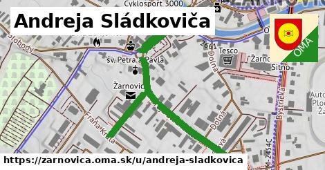 ilustrácia k Andreja Sládkoviča, Žarnovica - 0,73km