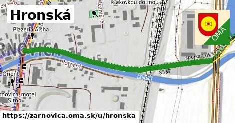 ilustrácia k Hronská, Žarnovica - 613m