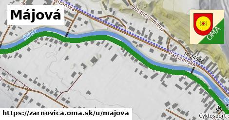 ilustrácia k Májová, Žarnovica - 0,96km