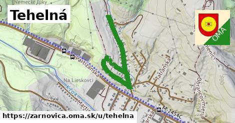 ilustrácia k Tehelná, Žarnovica - 0,92km