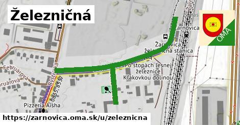 ilustrácia k Železničná, Žarnovica - 391m
