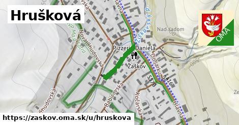 ilustrácia k Hrušková, Žaškov - 164m