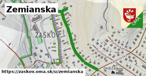 ilustrácia k Zemianska, Žaškov - 576m