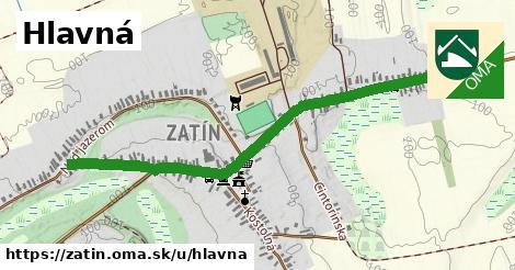 ilustrácia k Hlavná, Zatín - 1,55km