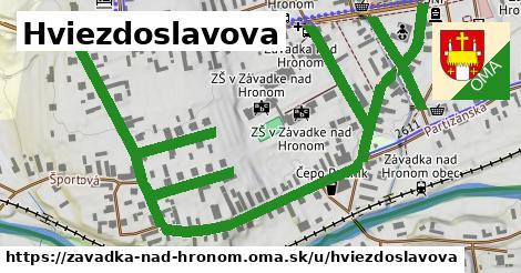 ilustrácia k Hviezdoslavova, Závadka nad Hronom - 1,40km