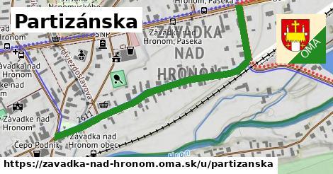 ilustrácia k Partizánska, Závadka nad Hronom - 595m