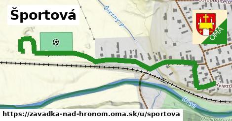 ilustrácia k Športová, Závadka nad Hronom - 547m