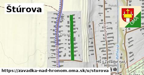 ilustrácia k Štúrova, Závadka nad Hronom - 233m