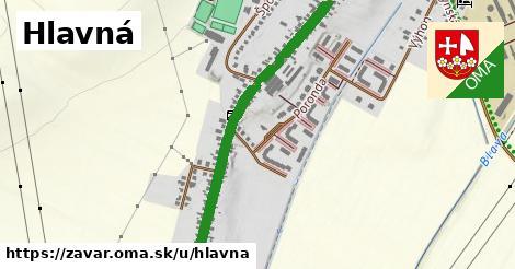ilustrácia k Hlavná, Zavar - 1,57km