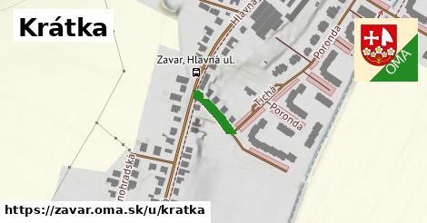 ilustrácia k Krátka, Zavar - 222m