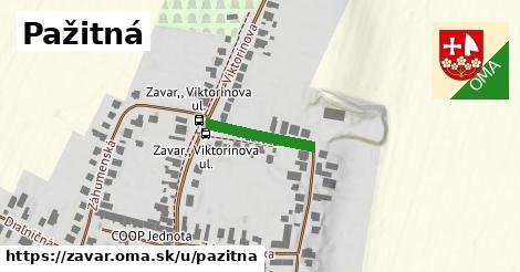 ilustrácia k Pažitná, Zavar - 316m