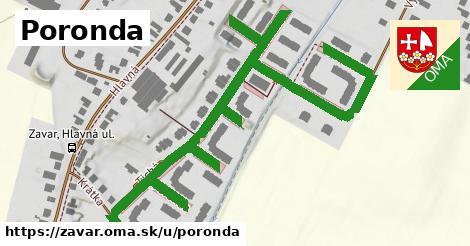 ilustrácia k Poronda, Zavar - 0,98km