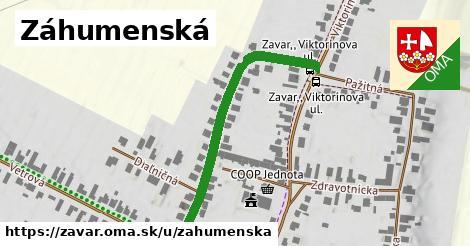 ilustrácia k Záhumenská, Zavar - 447m