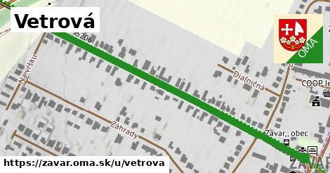 ilustrácia k Vetrová, Zavar - 0,74km