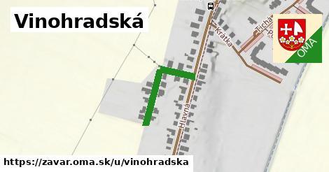 ilustrácia k Vinohradská, Zavar - 210m