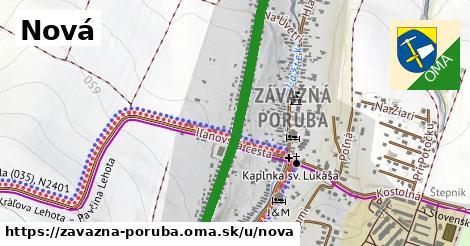 ilustrácia k Nová, Závažná Poruba - 1,01km