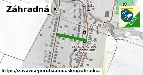 ilustrácia k Záhradná, Závažná Poruba - 156m