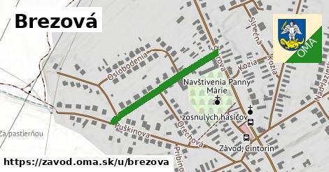 ilustrácia k Brezová, Závod - 288m