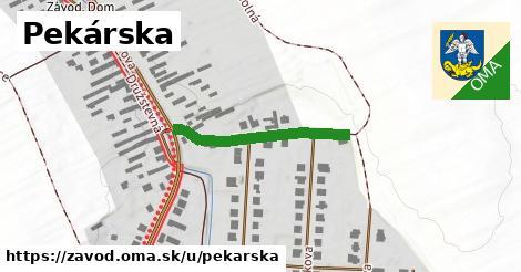 ilustrácia k Pekárska, Závod - 262m