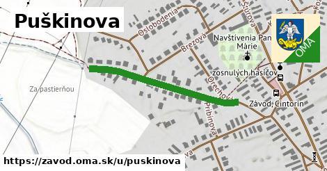 ilustrácia k Puškinova, Závod - 350m
