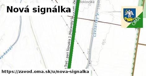 ilustrácia k Nová signálka, Závod - 1,08km