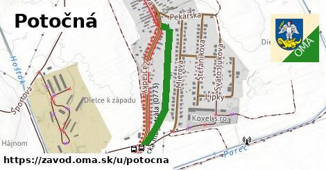 ilustrácia k Potočná, Závod - 591m
