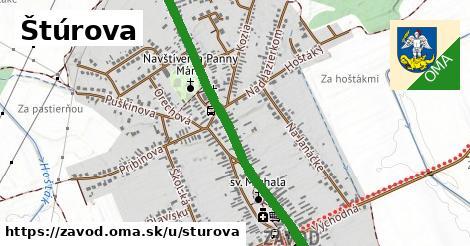 ilustrácia k Štúrova, Závod - 1,68km