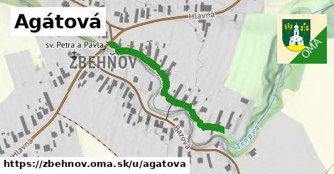 ilustrácia k Agátová, Zbehňov - 362m