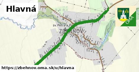 ilustrácia k Hlavná, Zbehňov - 1,05km