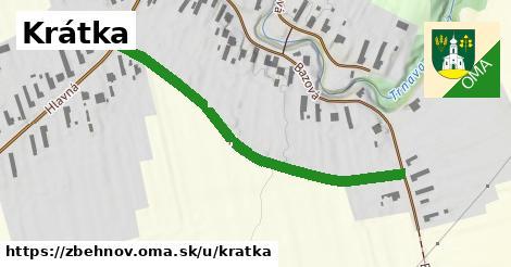 ilustrácia k Krátka, Zbehňov - 484m