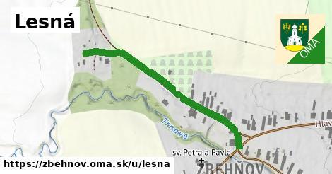 ilustrácia k Lesná, Zbehňov - 434m