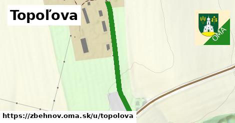 ilustrácia k Topoľova, Zbehňov - 388m