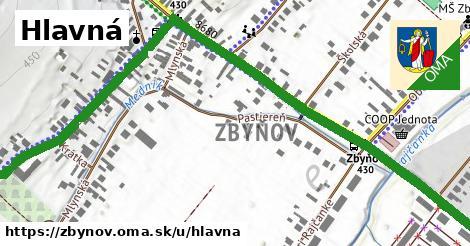 ilustrácia k Hlavná, Zbyňov - 1,03km