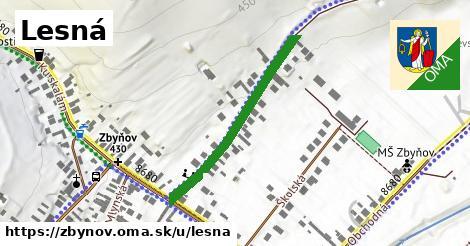 ilustrácia k Lesná, Zbyňov - 329m