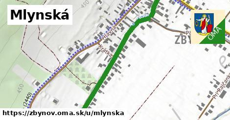 ilustrácia k Mlynská, Zbyňov - 550m