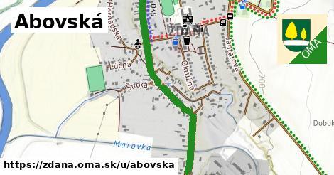 ilustrácia k Abovská, Ždaňa - 1,01km