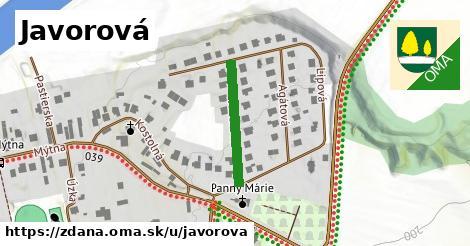 ilustrácia k Javorová, Ždaňa - 199m